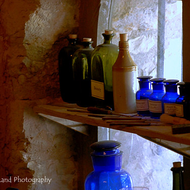 Bottles in a Window