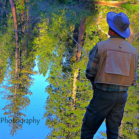 Fly Fishing at Cattle Camp