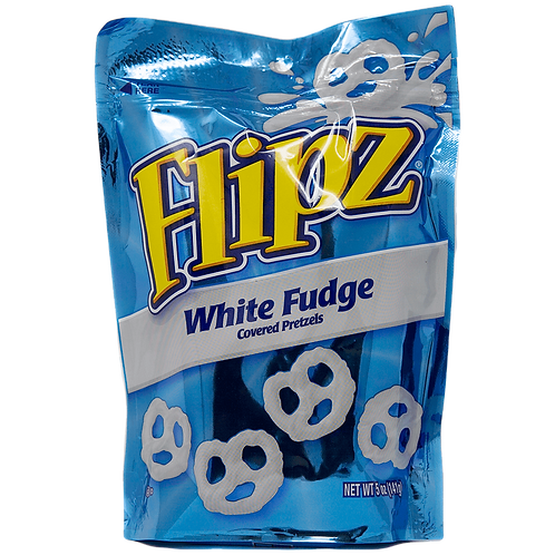 Flipz White Fudge Pretzels - 5oz