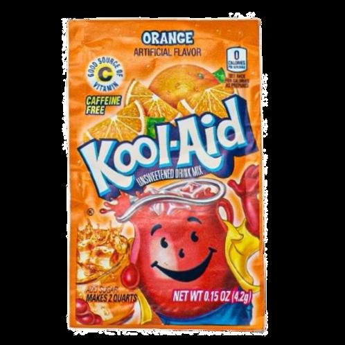 Kool Aid Orange Unsweetened - 6g