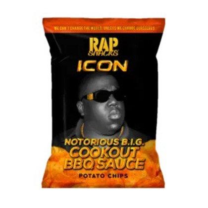 Rap Snacks Cookout BBQ Notorious BIG - 2.75oz
