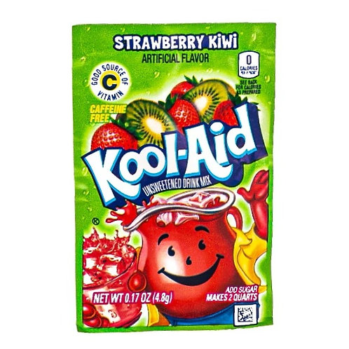 Kool-Aid Strawberry Kiwi Unsweetened - 6g