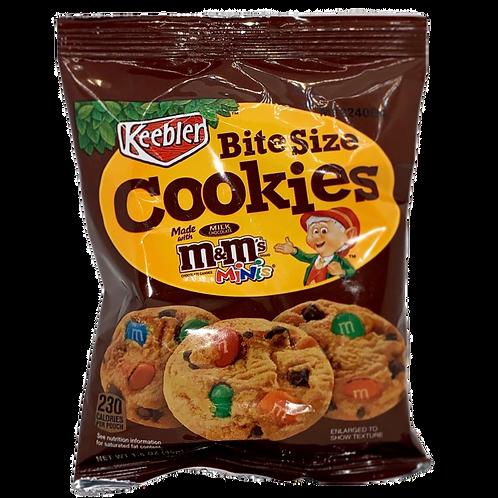 M&M Cookies Bite Size - 1.58oz