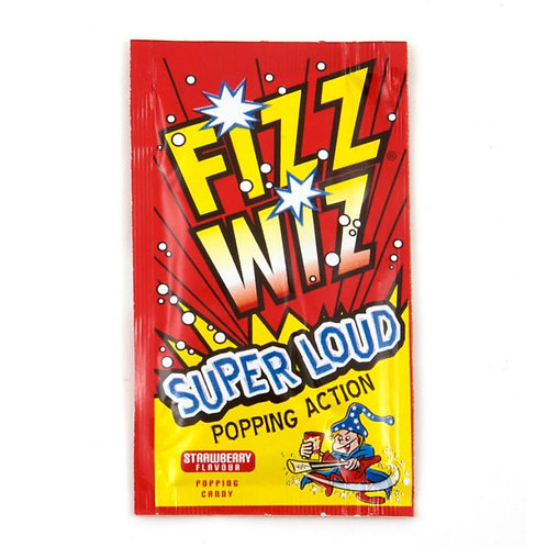 Fizz Wiz Popping Candy Strawberry - 4.9gm