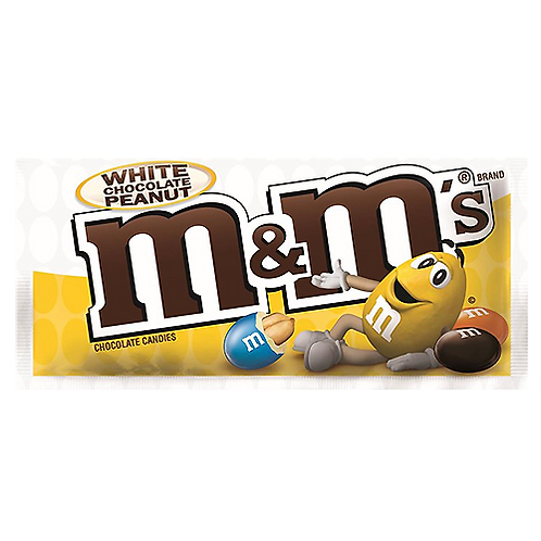M&M's White Chocolate Peanut - 1.63oz
