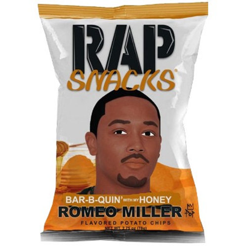 Rap Snacks Romeo Miller Barb-B-Quin Honey - 2.75oz