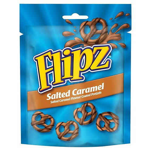 Flipz Salted Caramel Coated Pretzels  - 5oz