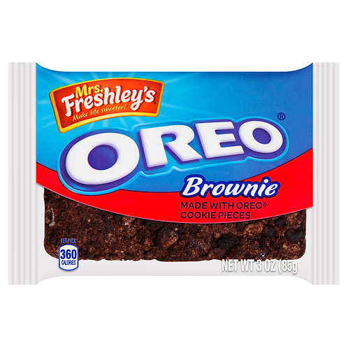 Mrs Freshley Oreo Brownie - 3oz