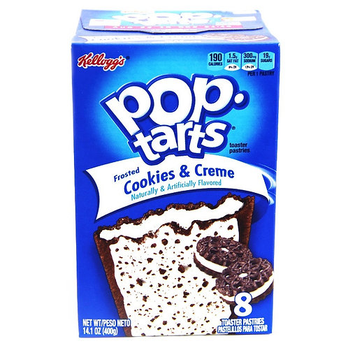 Pop Tarts Cookies & Cream - 13.5oz