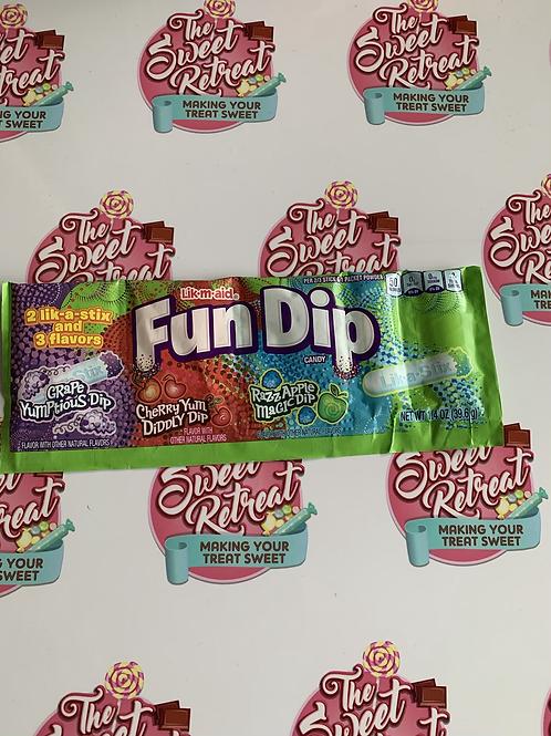 Fun Dip Lik-M-Aid 3 Flavour - 1.4oz