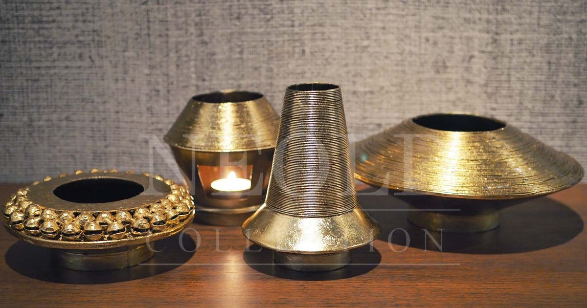 Kangwan Collection with Thai bells (Set of 4)