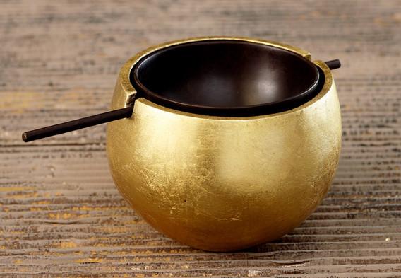 Spherical Ashtray (Gold)