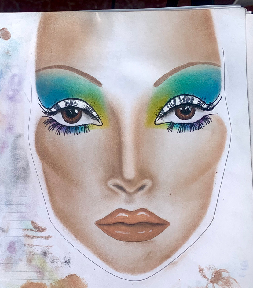 60s face chart