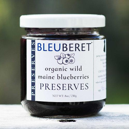 Wild Maine Blueberry Preserves (ORGANIC BLUEBERRIES)