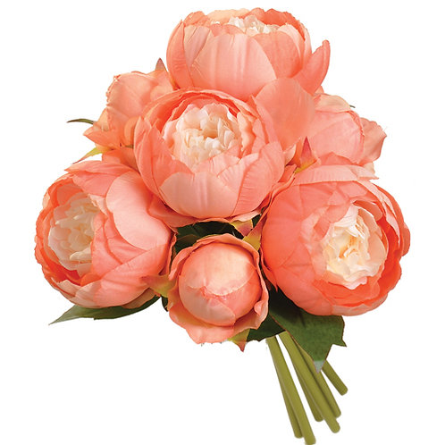 Peonie Bouquet Starter - Coral/Yellow
