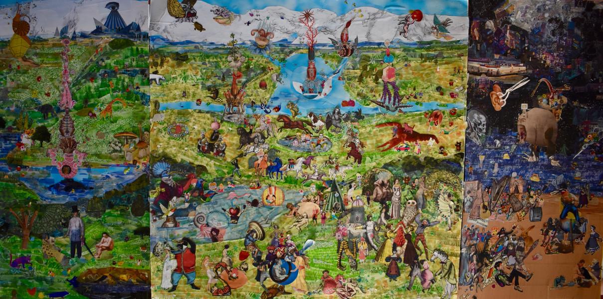 Pandemic Altarpiece,
