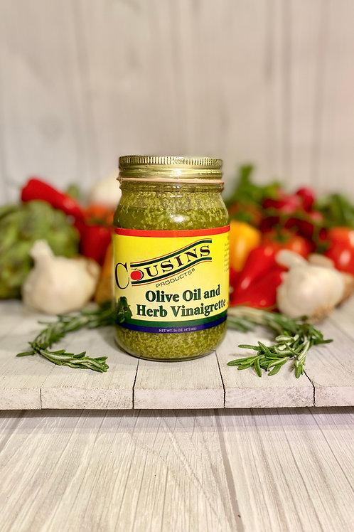 Olive Oil and Herb Vinaigrette