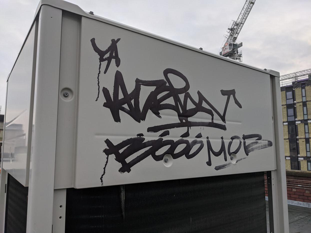 Graffiti removal Birmingham
