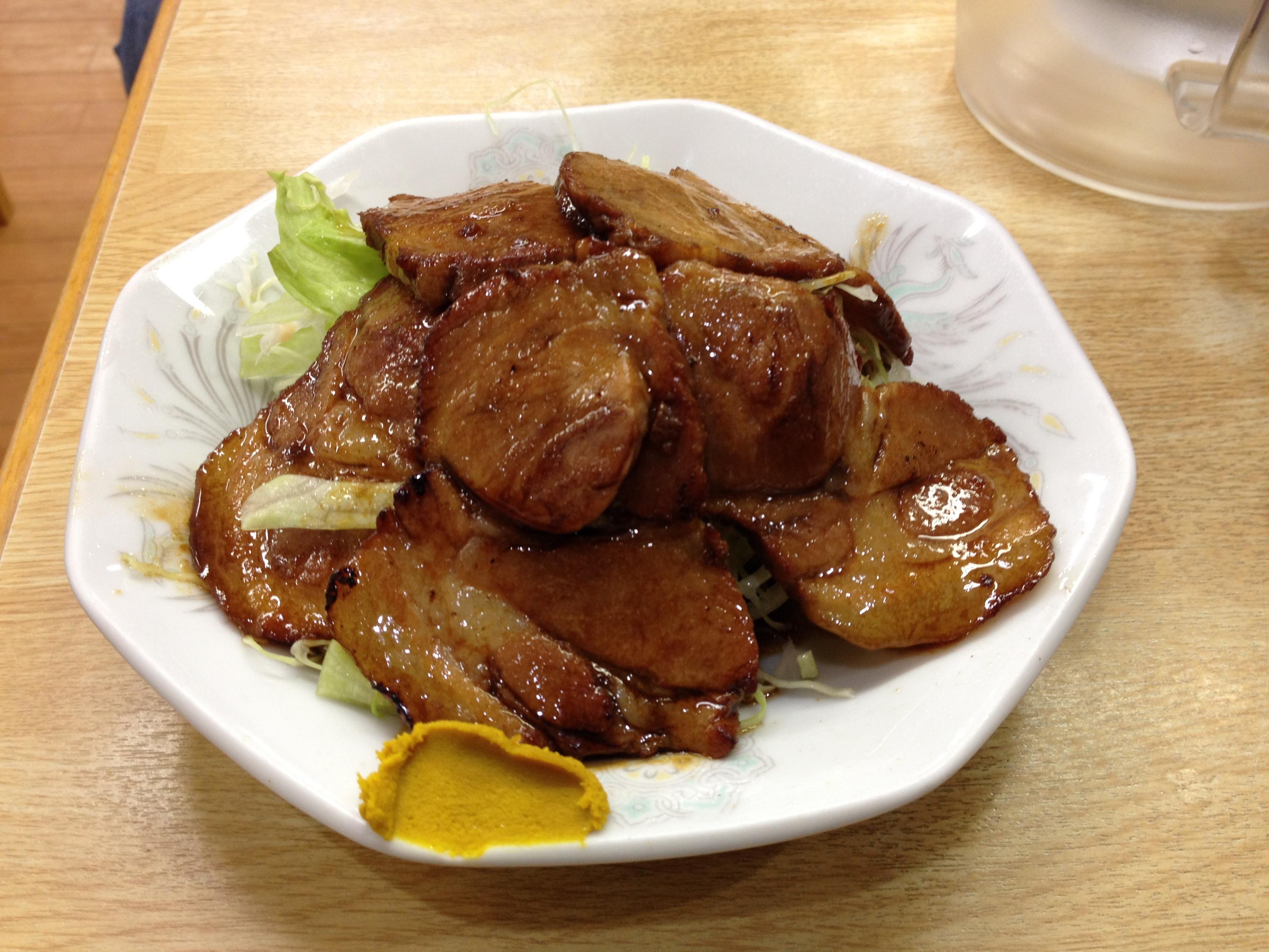 Pork at Ramen Bayashi