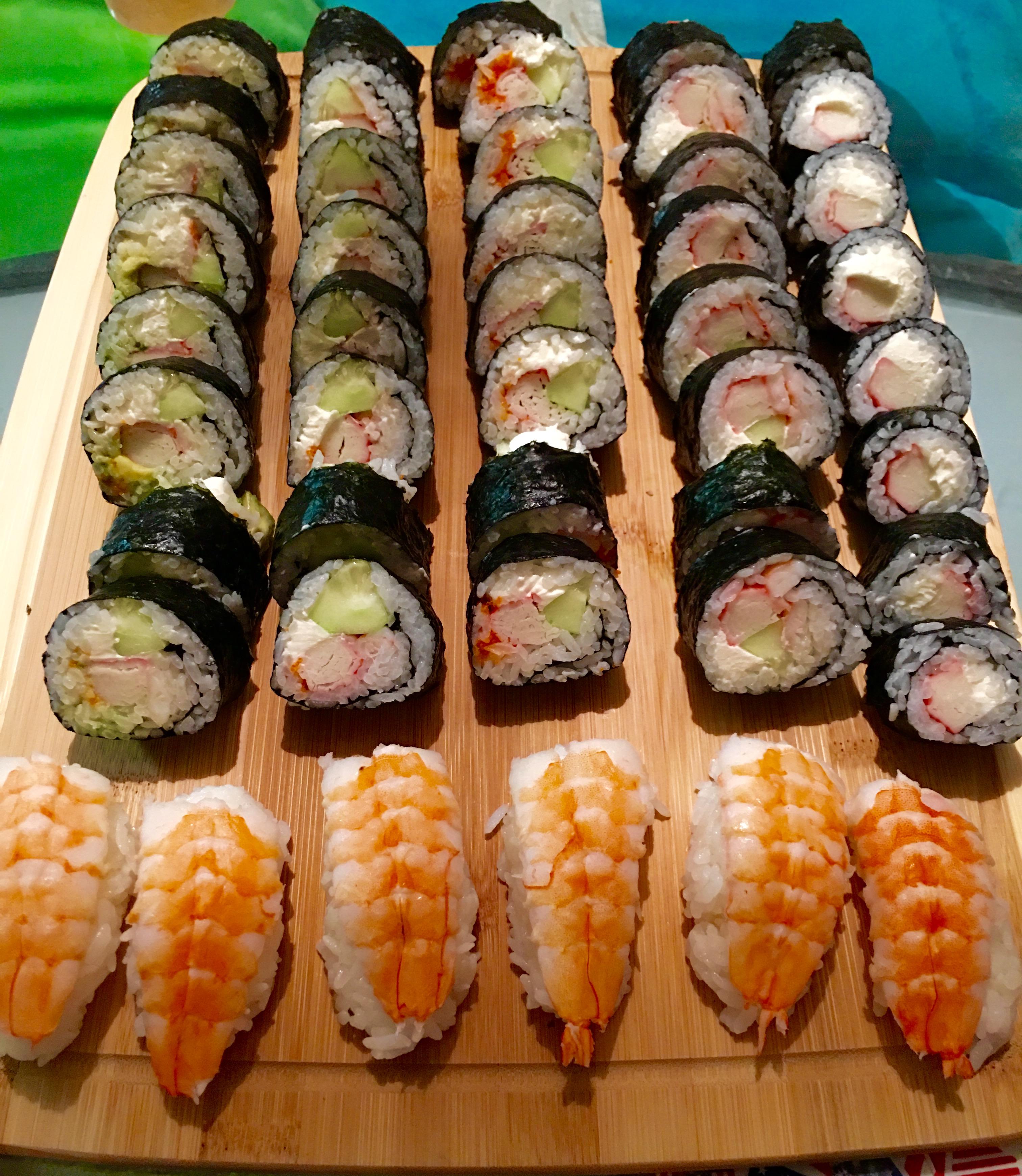 Sushi Creation at Home
