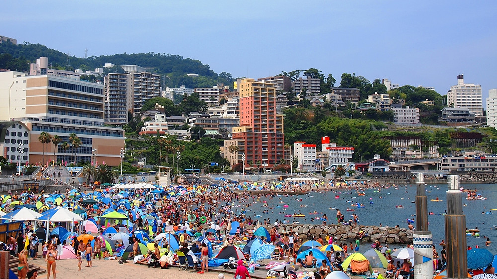 Atami in the Summertime