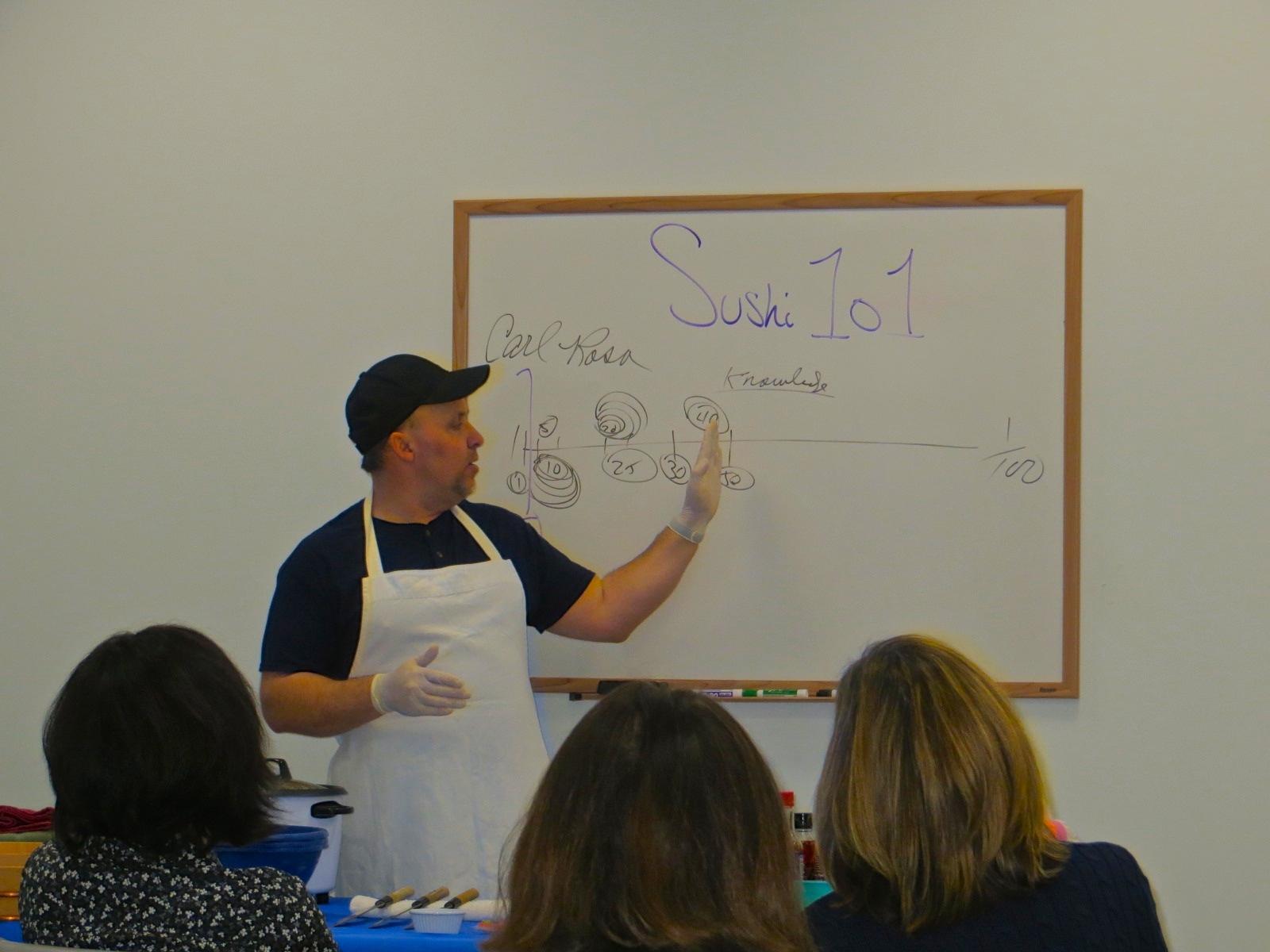 Carl Teaching