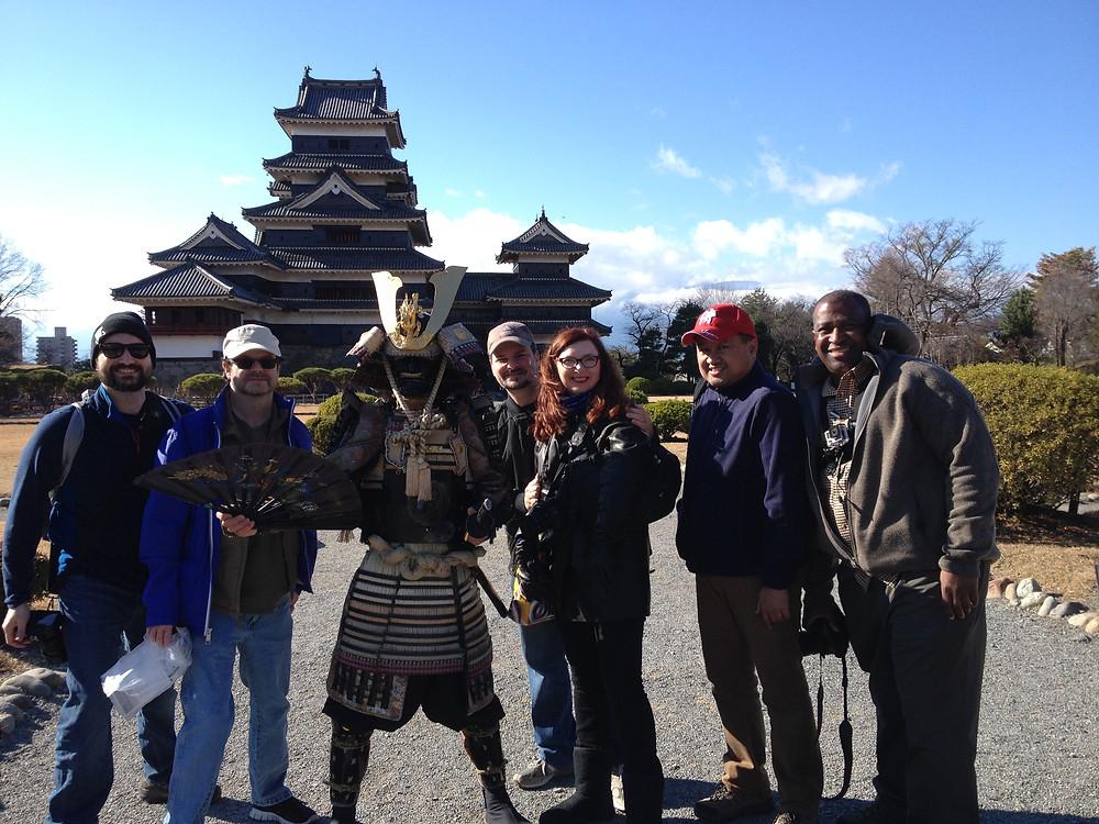 Carl's Team in Matsumoto
