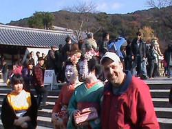 Geisha - Kiyomizu Temple