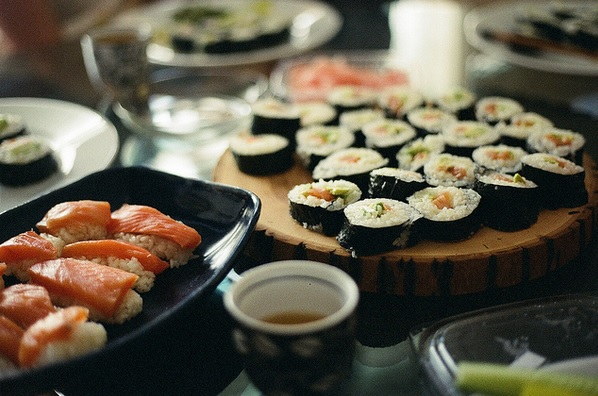 Kimberly Villarubia: Sushi
