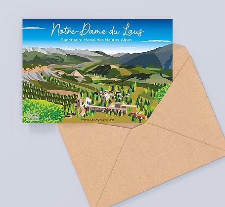 Carte Postale Notre-Dame du Laus