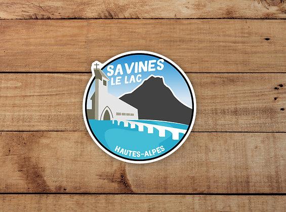 Adhésif Savines-le-Lac