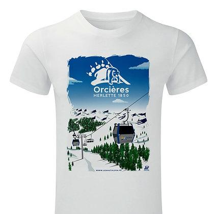 Tee-Shirt Orcières Merlette