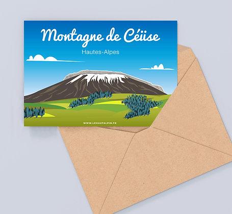 Carte Postale Céüse