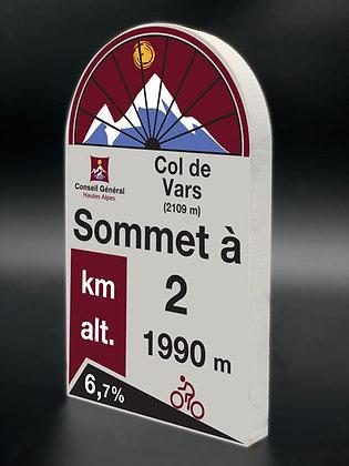 Borne PVC Col de Vars