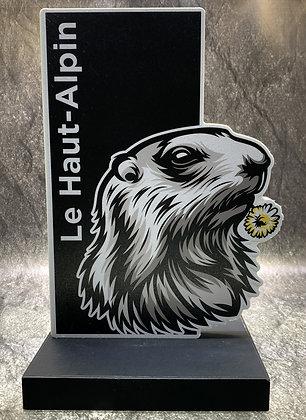 Figurine PVC Animaux de montagne - Marmotte