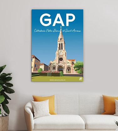 Tableau Gap - Cathédrale