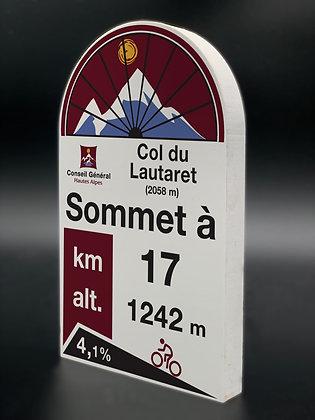 Borne PVC Col du Lautaret
