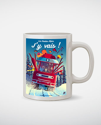 Mug Les Hautes-Alpes J'y Vais !