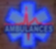 enseigne lumineuse ambulances leds métier