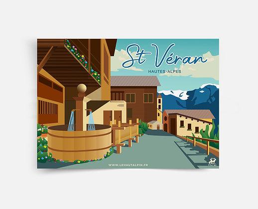 Affiche St Véran