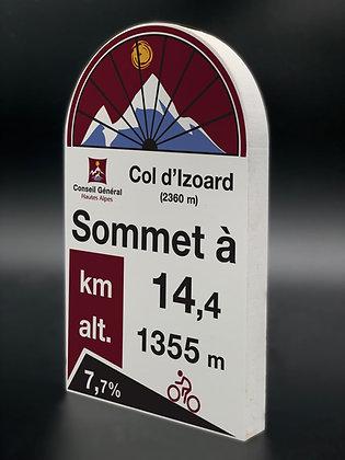 Borne PVC Col d'Izoard