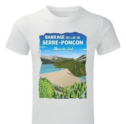 Tee-Shirt  Barrage de Serre-Ponçon