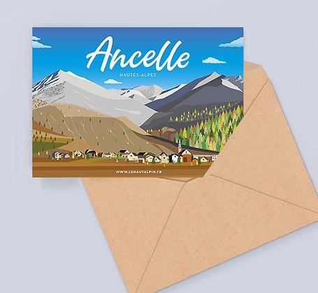 Carte Postale Ancelle