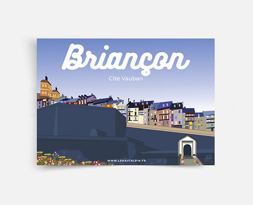 Affiche Briançon