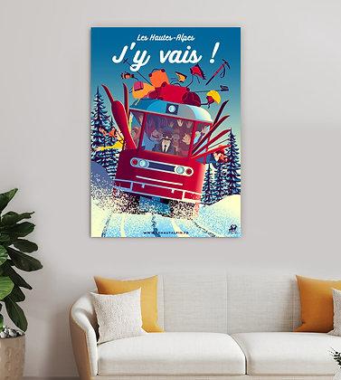 Tableau Les Hautes-Alpes J'y Vais !