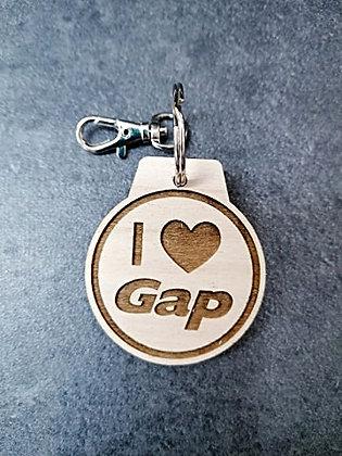 Porte-clés I Love GAP