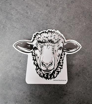 Mini Figurine PVC Animaux de montagne - Mouton