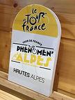 Borne PVC LE TOUR DE FRANCE Hautes-Alpes Optimum