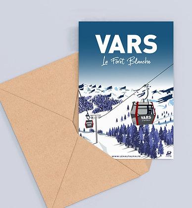 Carte Postale Vars