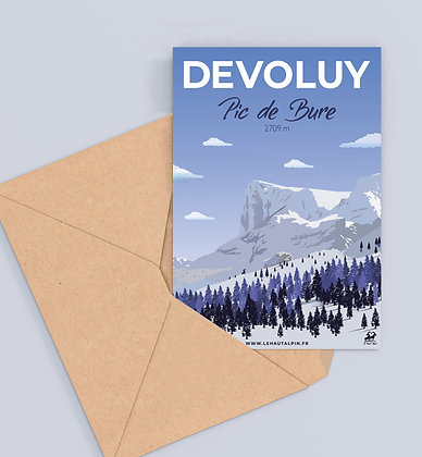 Carte Postale Dévoluy
